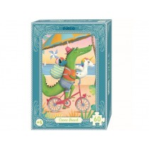 Djeco Minipuzzle CROCO BEACH (60 Teile)
