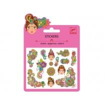 Djeco Mini Sticker INDISCHES DESIGN