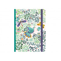 Djeco Notizbuch mit Gummiband ANNA
