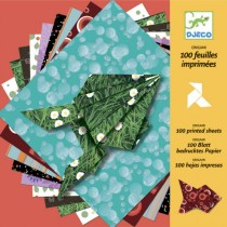 Djeco Origami 80 Papiere