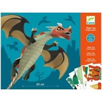Djeco Faltset Paper Toy Riesendrache
