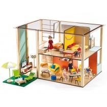 Djeco Puppenhaus Cubic house