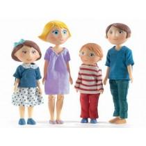 Djeco Puppenhaus Familie Gaspard & Romy