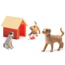 Djeco Puppenhaus Hunde