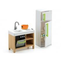 Djeco Puppenhaus Kompaktküche