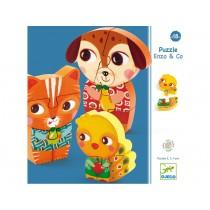 Djeco Puzzle Enzo & Co