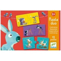 Djeco Duo Puzzle Gegensätze
