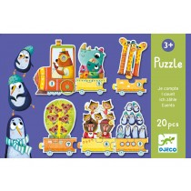 Djeco Duo Puzzle Ich zähle