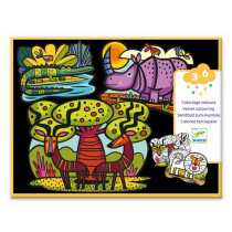 Djeco 3-6 Design Samtbilder SAVANNE