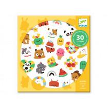 Djeco 30 Sticker EMOJI