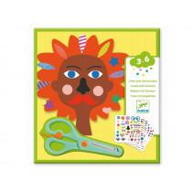 Djeco 3-6 Design Sticker FRISUREN
