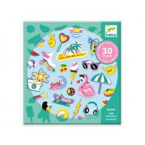 Djeco 30 Sticker KALIFORNIEN