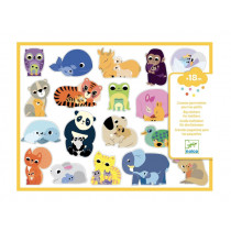 Djeco Sticker MÜTTER & BABYS