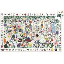 Djeco Suchpuzzle 1000 BLUMEN (100 Teile)