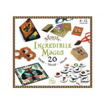 Djeco Zauberkasten INCREDIBILE MAGUS (20 Zaubertricks)