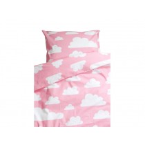 Färg&Form Baby-Bettwäsche Moln Wolken pink (100x130)