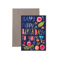 Frau Ottilie Grußkarte zum Geburtstag HAPPY BIRTHDAY TO YOU