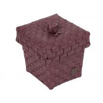 Handed By Box Ascoli marsala-rot