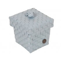 Handed By Box Ascoli puder-blau