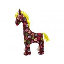 HickUps Pferd Blumen braun