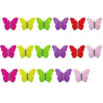 JaBaDaBaDo Wimpelkette Schmetterlinge
