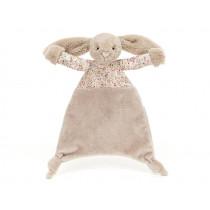 Jellycat Schnuffeltuch Hase BLOSSOM Bea beige