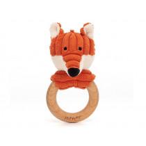 Jellycat Cordy Roy FUCHS Holzringspielzeug