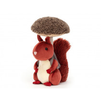Jellycat FUNGI FORAGER Eichhörnchen