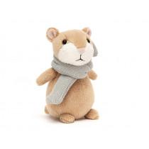 Jellycat Hamster HAPPY NUTMEG XS salbei