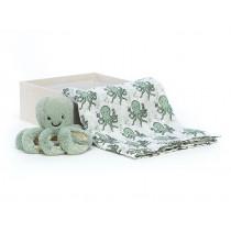 Jellycat Oktopus ODYSSEY Geschenke-Set