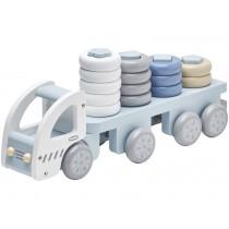 Kids Concept Ringspiel Laster pastellblau