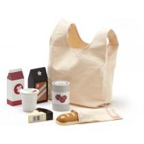 Kids Concept Einkaufstasche mit Lebensmitteln