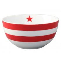 Krasilnikoff Happy Bowl Streifen rot