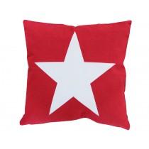 Krasilnikoff Kissenbezug Stern rot