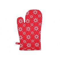 Krasilnikoff Ofenhandschuh diagonal rot