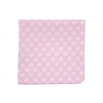 Krasilnikoff Serviette retro Blumen pink