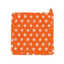 Krasilnikoff Topflappen Sterne orange