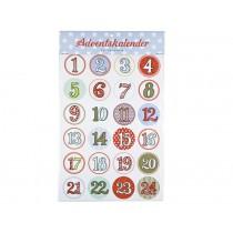Adventskalender-Sticker von krima & isa