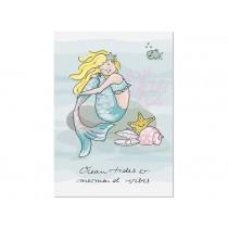 krima & isa Postkarte Ocean Tides & Mermaid Vibes
