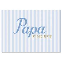 """krima & isa Postkarte """"PAPA IST DER BESTE"""""""