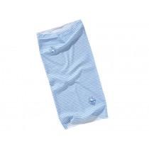 Lässig twister Baby Schal mit Streifen in hellblau