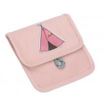 Lässig Mini Brustbeutel TIPI rosa
