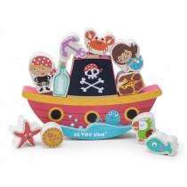 Le Toy Van Balancierspiel Piratenschiff