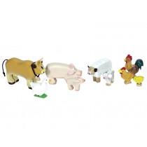Le Toy Van Bauernhoftiere Set aus Holz