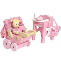 Le Toy Van Puppenhaus Set Babyausstattung