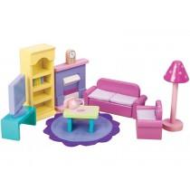 Le Toy Van Puppenhaus-Set Wohnzimmer Sugar Plum