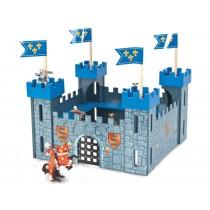 Le Toy Van Meine erste Ritterburg blau