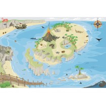 Le Toy Van Spielmatte Pirateninsel medium (80x120)