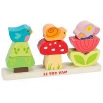 Le Toy Van Stapelpuzzle Mein Garten