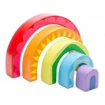 Le Toy Van Tunnel-Puzzle REGENBOGEN